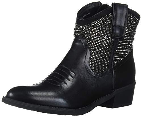 Very Volatile Women's Delores Fashion Boot, Black, 6 UK