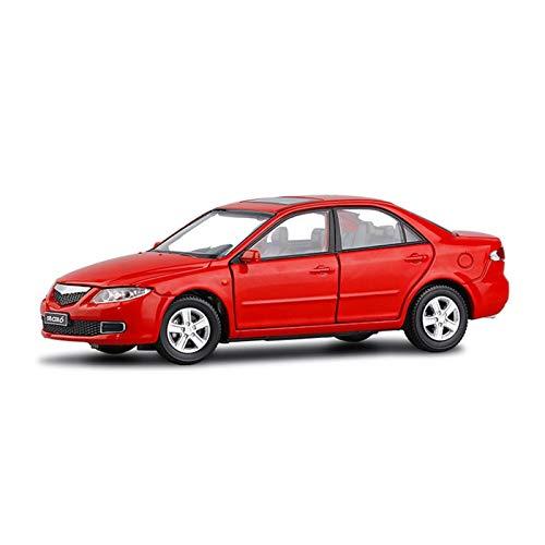 HCEB 1:32 para Mazda6 Simulación Coche Muele Modelo Modelo Modelo Cars Sonido y Luz to-y Collection Cumplimiento Cumpleaños Presente Boy Gir (Color : Rojo)