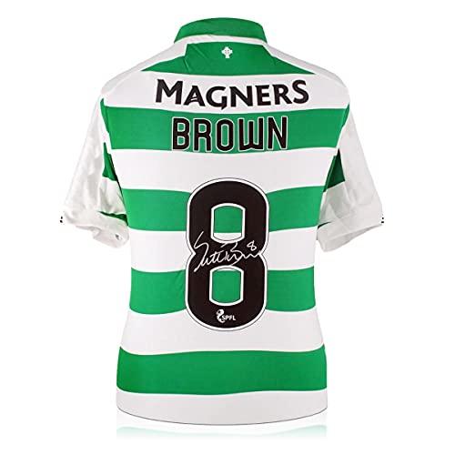 Scott Brown Signed Celtic Jersey. 2019 | Autographed Soccer Memorabilia
