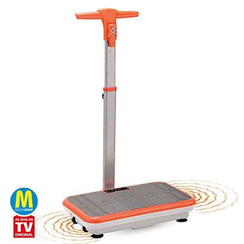 Mediashop VibroShaper mit Griff – Fitness Vibrationsplatte bringt den Körper in Form – Vibrationstrainer für unterschiedliche Muskelgruppen | Das Original aus dem TV