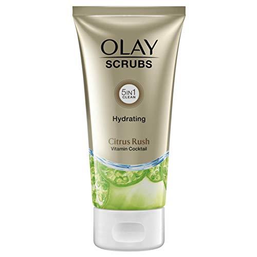 Olay Scrubs - Exfoliante Hidratante, Citrus Rush - 150 ml