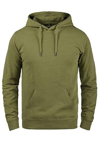 Blend Damian Herren Kapuzenpullover Hoodie Pullover Mit Kapuze Und Fleece-Innenseite, Größe:L, Farbe:Martini Olive (77238)