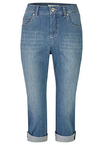 Angels Damen Capri-Jeans 'Cici TU' mit Leichter Used-Waschung