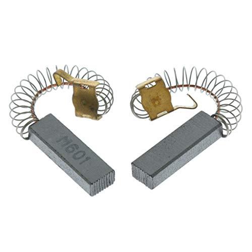 sourcingmap 3 pares de Escobilla de Carbono del motor de herramienta taladro el/éctrico giratorio de 16mmx8mmx5mm negro