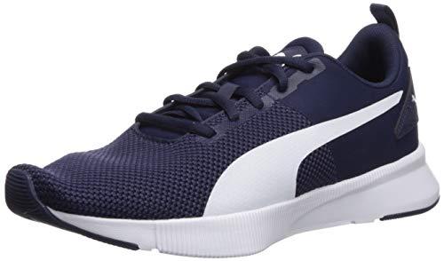 PUMA Flyer Runner Sneaker da uomo, blu (blu pavone/bianco), 47 EU