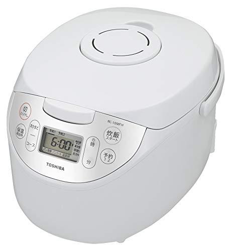 東芝 炊飯器 5.5合 マイコン式 銅コート釜 ホワイト RC-10MFH-W