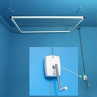 Maya Etendoir à Linge de Plafond à manivelle 100/80cm