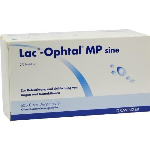 LAC-OPHTAL MP SINE 60X0.6ml Augentropfen PZN:5385186 by Dr. Winzer Pharma GmbH
