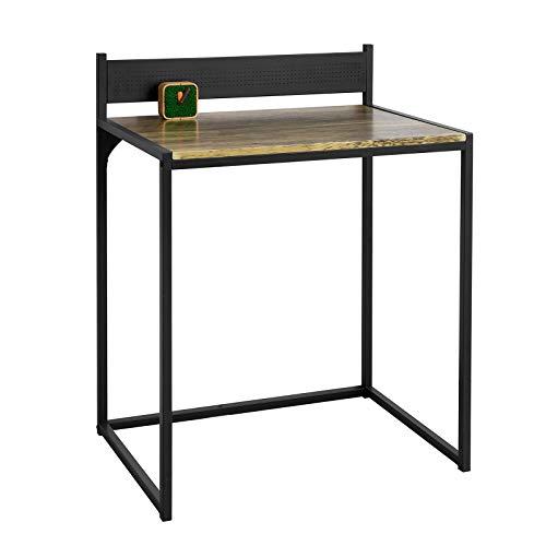SoBuy Scrivania Piccola salvaspazio Tavolo scrivania per PC L70*P50*A75 cm Stile Vintage (FWT66-SCH)