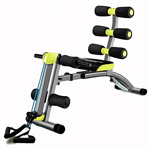 QQYYY Sitz Und Ruderer Für Ganzkörper-Training All-In-One-Rückenverlängerung Übung ABS-Bank Fitness Bodybuilding Arm Fitnessstudio Home Office,26 pounds