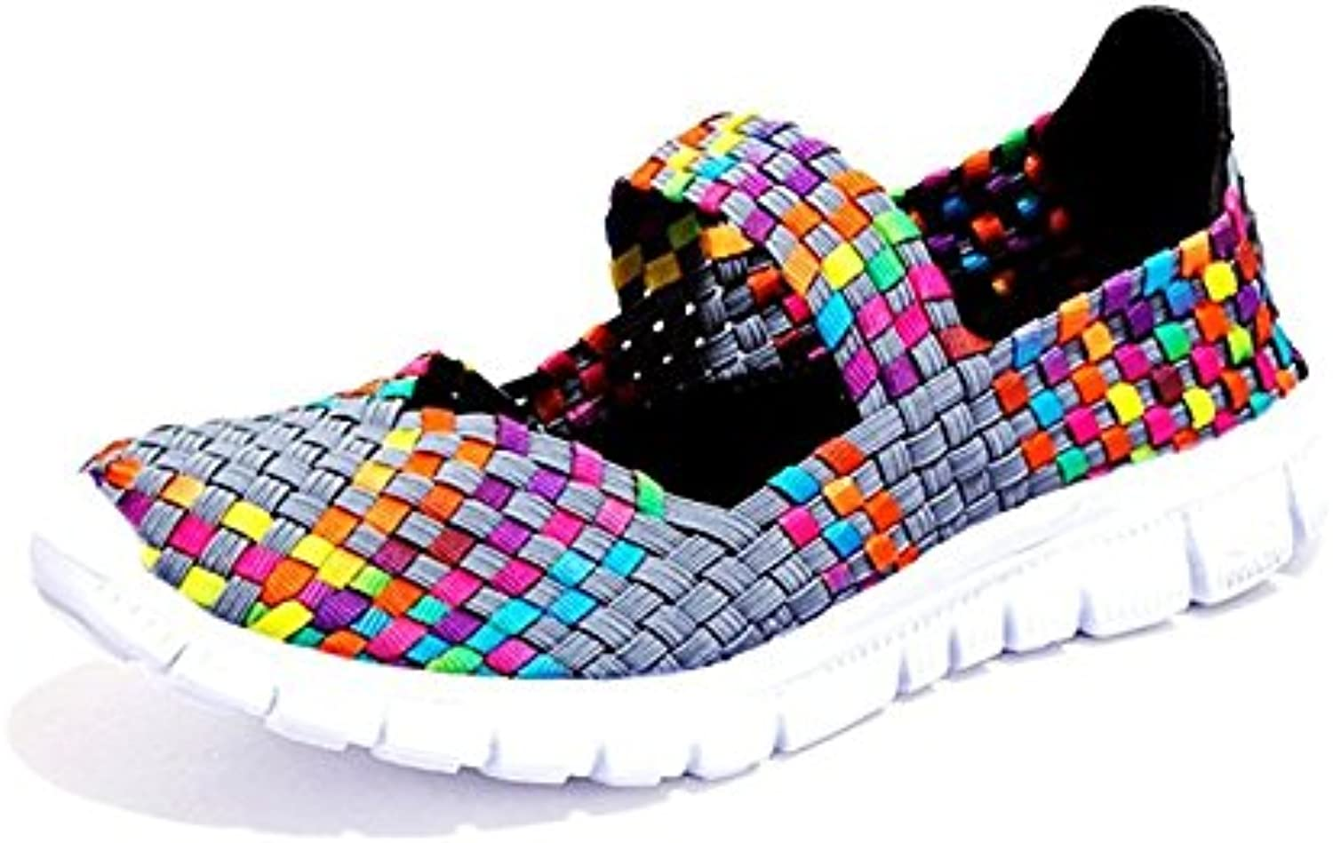 Laofu Women's Casual Lightweight Water shoes Breathable Comfort Woven shoes for Walking Running Camping