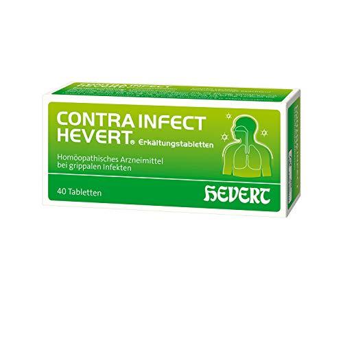 Contrainfect Hevert Erkältungstabletten, 40 St. Tabletten