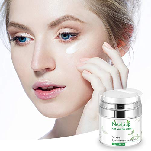 41ogaoPmLtL - Under Eye Cream - Eye Repair Cream for Anti Aging, Dark Circles & Puffiness Eye Bag Treatment with Retinol, AloeVitamin C & E Eye Repair Cream for Men Or Women's Eye Moisturizer