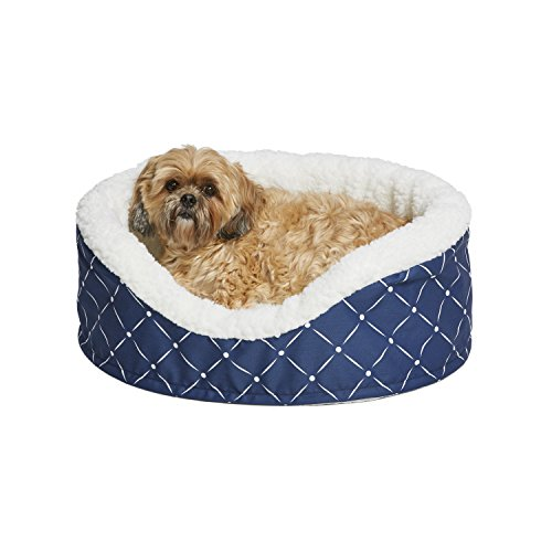 MidWest Homes for Pets CU25BLD Couture Orthopedic Cradle Pet Bed for Dogs & Cats, Small