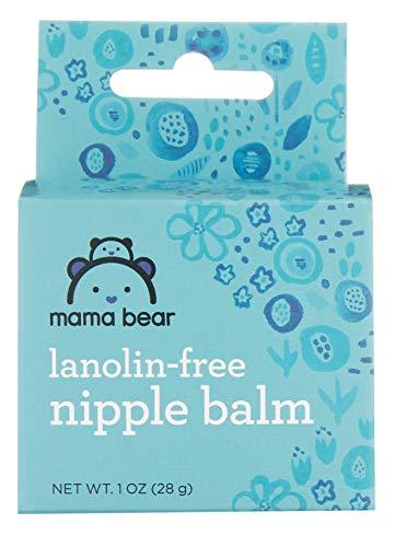 Great Deal! Amazon Brand - Mama Bear Nipple Balm, Lanolin-Free, 1 Oz