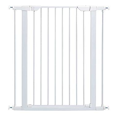 MidWest 39  High Walk-thru Steel Pet Gate, 29  - 38  Wide in Soft White