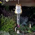 HomeZone Garden Mile® Ceramic Animal Wind Chimes | Unique Outdoor Hanging Garden Wind Ornaments 3