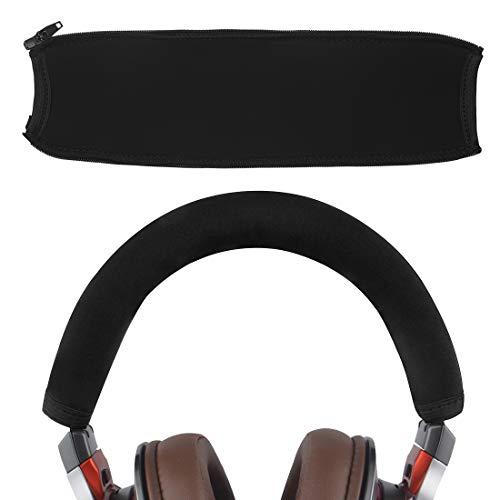 Geekria - Funda protectora para la diadema de auriculares, compatible con ATH MSR7, MSR7NC, MSR7BK, MSR7GM, M50, fácil de instalar, no necesita herramientas