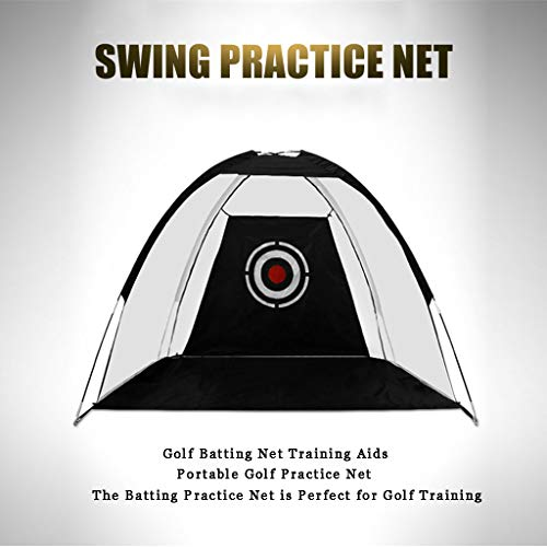 WUTONG Golf Net Indoor and Outdoor Training Backyard Batting Game Foldable...