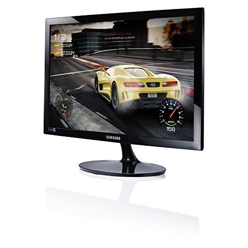 Samsung S24D330Monitor 24Full HD, 1920X 1080, 1Ms, 60Hz, Game Mode, D-SUB, HDMI-Kabel enthalten, Schwarz