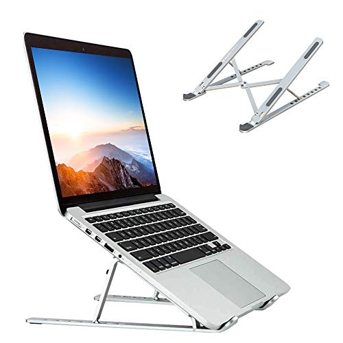 Kabi Laptop Stand Adjustable Foldable Lightweight Aluminium Alloy Laptops...