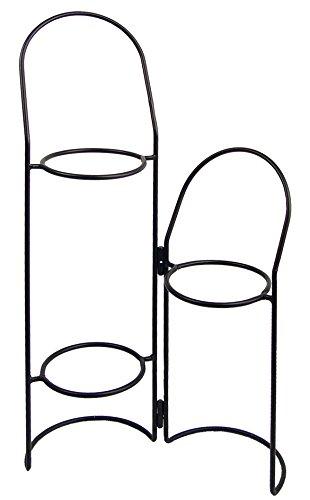 Imex la Volpe 72502-Vaso con Due Porte scorrevoli, 3 Anelli, Diametro 18 cm