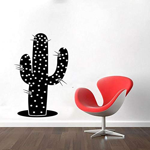 Wopiaol Cactus Plant Flower muursticker vinyl Home Decoration woonkamer Bedroon raam sticker kinderkamer kinderkamer muurschildering Cus