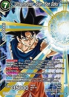 Dragon Ball Super TCG - Ultra Instinct -Sign- Son Goku - Series 3 Booster: Cross Worlds - BT3-033