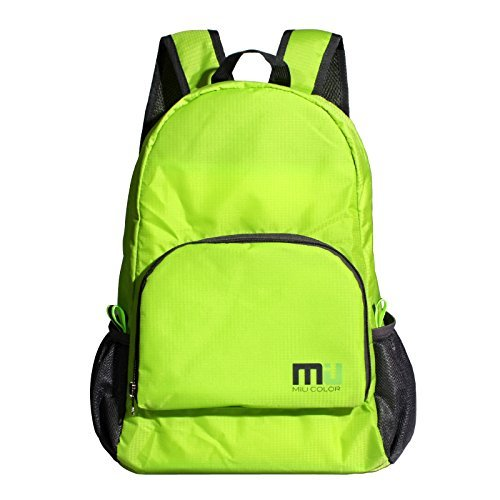 acb672a5e1 MIU COLOR 25L Foldable and Durable Lightweight Backpack - Packable  Waterproof Daypack for Traveling