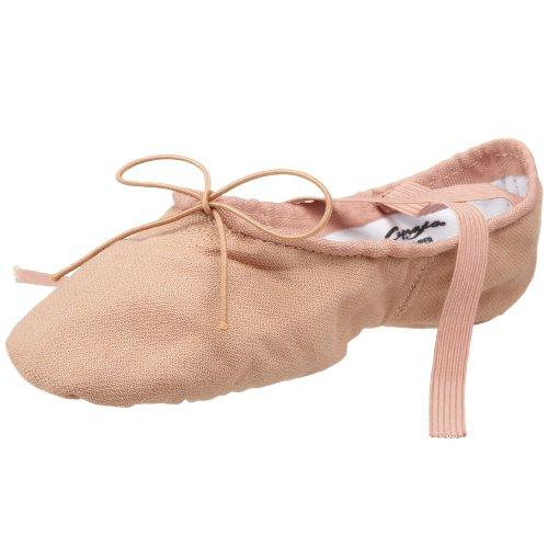 Capezio2030 Cobra- Zapatillas de ballet de lona., color Beige, talla 38
