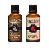 30ML - Pair (2) - Chocolate Fondue & Strawberry Champagne - Premium Fragrance Oil Pair - 30ML