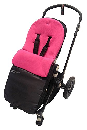 Chicco Chancelière/Cosy orteils Compatible avec Urban London Echo Multiway Lite Way Rose foncé