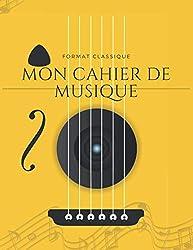 Cahier de musique:carnet de partitions-papier manuscrit: 100 pages-Grand Format-Couverture moderne 12 Octobre 2020 (French Edition)