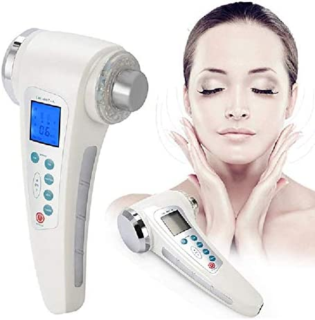YAVOCOS 4 in 1 Skin Pores Cleaning Massager 7 LED Sreen Display Skin Lift Rejuvenation Anti product image