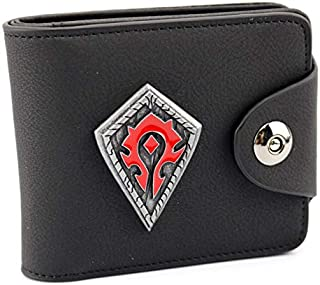 Black Faux Leather For Men - Trifold Wallets