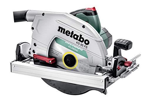 Metabo 601085500 KS 85 FS-Sierra Circular de Mano (235 mm de diámetro, 2000 W, Velocidad de Corte de 55 m/s, Longitud de Cable de 4 m, con maletín)