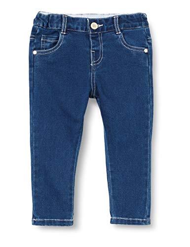 Chicco Baby-Jungen Pantaloni Lunghi Denim Stretch, Blau (Blu Jeans 088), 86 (Herstellergröße: 086)