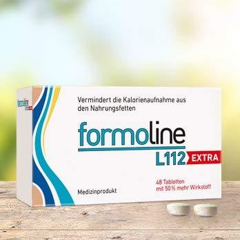 """Formoline L112 extra Spar-Set 2x48 Tabletten. Ihr extra starker """"Kalorienmagnet"""" zum Abnehmen und Gewicht halten. Bis zu 3 Kleidergrößen schlanker!"""