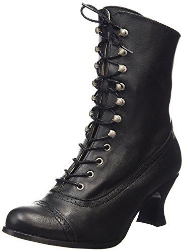 Stockerpoint Damen 4490 Kurzschaft Stiefel, Schwarz (schwarz nappa), 38 EU