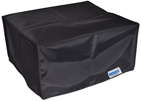 Comp Bind Technology Dust Cover Compatible with Epson Workforce WF-3640 All-in-One Printer. Black Nylon Anti Static Cover Dimensions 17.7''W x 16.8''D x 12.10''H