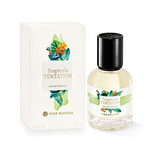 Yves Rocher LA COLLECTION Eau de Parfum Tropicale Tentation, exotisches Parfum mit Bitter-Orange, 1 x Zerstäuber 30 ml