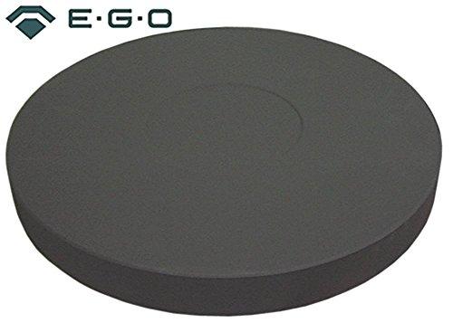 EGO 12.40670.231 kookplaat voor Mareno FP1E met gietijzeren rand 400V 5000W aansluiting 2x3 schroefklemmen ø 400mm met gietijzeren rand hoogte 42mm