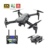Leader 4K HD Drone, Moteur brushless 5G GPS Drone avec Double caméra, Professionnel Pliable quadrirotor 1800M RC Distance Toy
