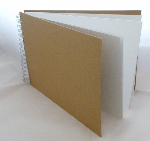 A4 Avant Album de scrapbooking en Papier mâché en forme de 30 x 21,5 cm - 12 \