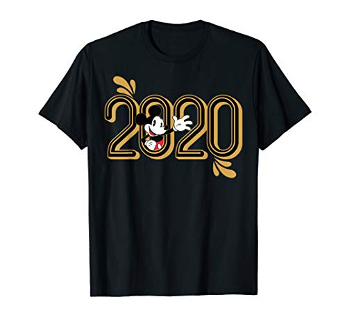 Disney New Year's 2020 Mickey Mouse In The Zero T-Shirt