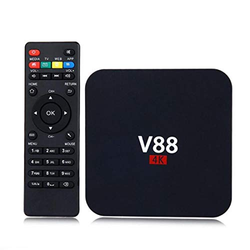 drf8090w-eop TV Inteligente V88 Android 6.0 RK3229 Quad Core 4K 1G + 8G WiFi Set-Top-Box
