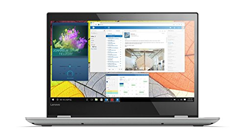 Lenovo Yoga 520 35,6 cm (14,0 Zoll Full HD IPS Touch) Slim Convertible Notebook (Intel Core i5-7200U, 8 GB RAM, 256 GB SSD, Nvidia GeForce GT 940MX 2 GB, Windows 10 Home) grau