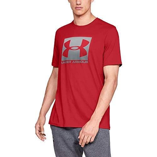 Under Armour Camiseta Boxed Sportstyle 1329581 600 Rojo