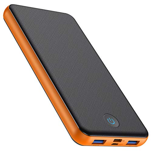 HETP Powerbank 26800mAh - Schnellladung PD Ladegerät【Quick Charge 3.0 Power Delivery】 Externer Akku Pack 3-Ausgang & 2-Eingang Type-C Power Bank für iPhone iPad Samsung und More [18W PD QC 3.0]