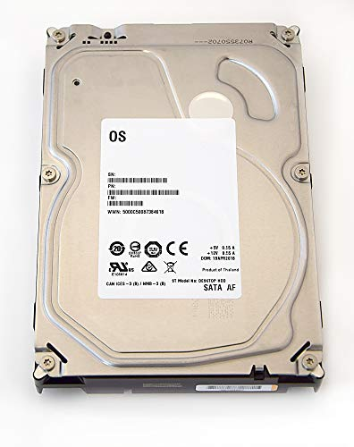 Seagate Barracuda/desktop-HDD White Label interne harde schijf 3,5 inch, 8,9 cm, PC, HDD, NAS, min. 5400 rpm, SATA 600, SATA3, Serial ATA- recertified 6.000GB (6TB)